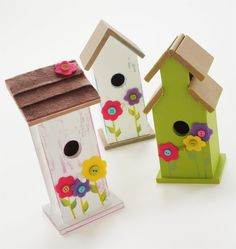 More birdhouses. I can be a little addictive.
