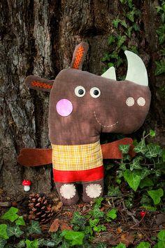 Nino le rhino by zoomimosa, via Flickr