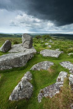 wanderthewood: Combestone Tor, Dartmoor, Devon, England by Light Magnetic on Flickr — FUCKITANDMOVETOBRITAIN