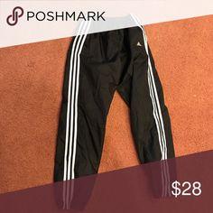 VTG Rare Adidas SZ pantalones raros de estilo deporte estilo de rompevientos m 5f7c57