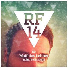 We are Reine Formsache 14! // 02/04 Matthias Lehner // Mitinitiator, der den Initiator von sämtlichen Zweifeln befreit. Bialas Fragezeichen ist Lehners Ausrufezeichen. Muss man nicht verstehen. Eingängiger sind da schon die Bilder, die sich mit einem ganz großen Thema dieser Welt beschäftigen: der Musik.  Kein Song ohne Bild im Kopf! Das dachte sich auch Matthias und bringt den Ohrwurm aufs Plakat. In seiner Quintessenz sozusagen. #RF14 #ausstellung #digital #kunst #regensburg #grafinesse