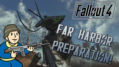 FALLOUT 4: How To Prepare Your Character For Far Harbor! (Perks, Legenda... Fallout Facts, New Adventures, What You Can Do, Video Game, Weapons, Gaming, Comic Books, Hacks, Fun