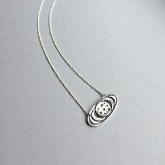 """Moon Love! Handcrafted in pure silver, this Moon Phase pendant is available in your choice of chain length: 16""""-18"""" & chain finish: dark oxidized or plain bright sterling silver. ( $56) #moonjewelry #mooncharm #silverjewelry"""