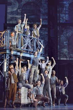 """Broadway in Chicago and Disney Theatricals present the national tour of """"Newsies"""" by Jack Feldman, Alan Menken and Harvey Fierstein, directed by Jeff Calhoun. Broadway Theatre, Musical Theatre, Broadway Shows, Broadway Posters, Les Miserables, Jack Kelly, Theatre Nerds, Theatre Jokes, Seize The Days"""