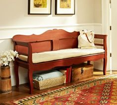 Sale 449.00 Darby Entryway Bench | Pottery Barn