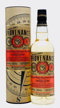 CRAIGELLACHIE 2008 8 Year Old Provenance, Speyside #whiskydrinks