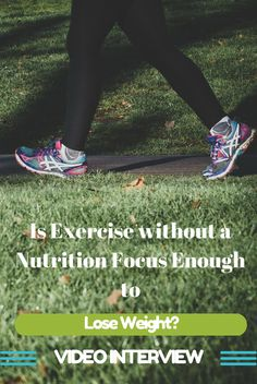 Is exercise without a nutrition focus enough to burn body fat?  Find out in this video interview with health and fitness expert Pascale Hennessey