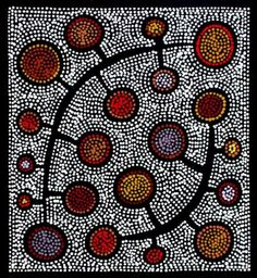 Risultato immagini per sally clark aboriginal art Aboriginal Art Dot Painting, Aboriginal Artists, Indigenous Australian Art, Indigenous Art, Arte Tribal, Tribal Art, Australian Painting, Aboriginal Culture, Guache