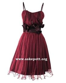 Kjoler - www.askepott.org  Til Ina? Formal Dresses, Party Dresses, 18th, Bows, Classic, Flowers, Red, Clothes, Ebay