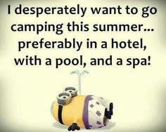Camping. ..