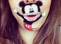 Mickey Lip Art
