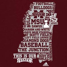 Mississippi State Bulldogs Maroon 2011 Super Bulldog Weekend T-shirt