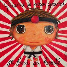 Isabelle Kessedjian: Quand je serai grand, nouvelle collection 2013. Kids Up, When I Grow Up, Edd, Cartoon Kids, Art Plastique, Photo Illustration, Karate, Tigger, Illustrations Posters