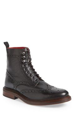 Base London 'Berners' Wingtip Boot (Men) available at #Nordstrom