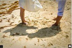 Barfuß am Strand heiraten