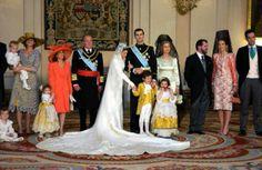 Spanish Crown Prince Felipe and Letizia Ortiz Wedding Ceremony