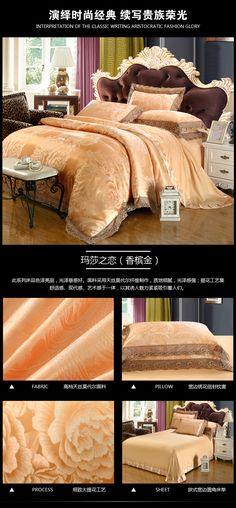 Luxury Jacquard Bedding Set King Queen Size 4pcs Bed Linen Silk Cotton Duvet Cover Lace Satin Bed Sheet Set Pillowcases 24 HTB1PrLEPXXXXXcbaXXXq6xXFXXXX HTB1PrLEPXXXXXcbaXXXq6xXFXXXX