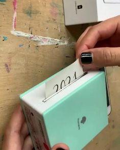Bullet Journal Lettering Ideas, Bullet Journal Ideas Pages, Bullet Journal Inspiration, Sticker Printer, Paper Pocket, Bullet Journal Notebook, Everyday Hacks, Cool Gadgets To Buy, Fun Diy Crafts
