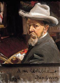 Joaquín Sorolla. Autorretrato.                                                                                                                                                                                 Más