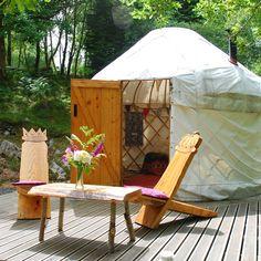 Yurts in Snowdonia - Graig Wen