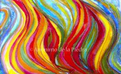 Veladura ígnea. Author : Anónimo de la Piedra