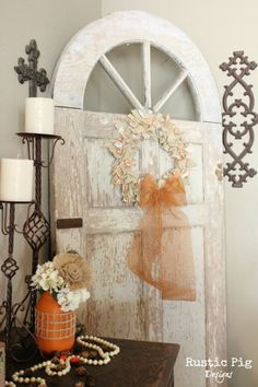 Hometalk :: Coat Hanger Fall Rag Wreath - Going to try this myself.... someone suggest using dryer sheets, and I think that might be a good idea.  Intersperse strips of dryer sheets with the fabric strips... will make the whole room smell good!