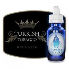 """Turkish Tobacco : E-liquide Halo. Définitivement confirmé comme un de mes """"all day"""" préférés. 9/10"""