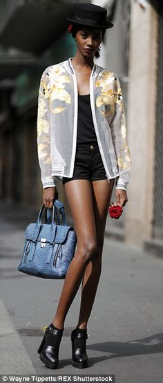 Tami Williams and Kai Newman take the fashion world by storm | Daily Mail Online