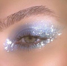 Cute Makeup Looks, Makeup Eye Looks, Eye Makeup Art, Pretty Makeup, Skin Makeup, Eyeshadow Makeup, Small Eyes Makeup, Soft Eye Makeup, Blue Eyeshadow
