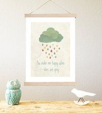 When Skies are Grey by Rebecca Peragine of Children Inspire Design