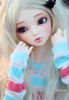 cool, this faceup looks so cute and realistic XD