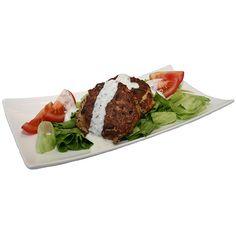 Thunfisch-Frikadellen mit Quark-Gemüse-Dip