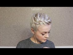 Short hair tutorial : 7 Ways I Style my Pixie Cut; Quick & Easy - YouTube  #hairtutorial #shorthairtutorial