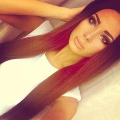 #long hair #brown #pro ana