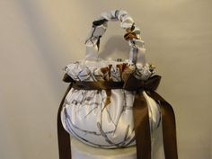 Flower Girl Basket Camo custom made to by MYBEAUTIFULWEDDINGS, $30.00