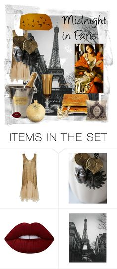 """""""Midnight in Paris"""" by mariannemerceria ❤ liked on Polyvore featuring art, paris and midnight"""