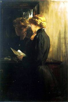 The Letter  james carroll beckwith
