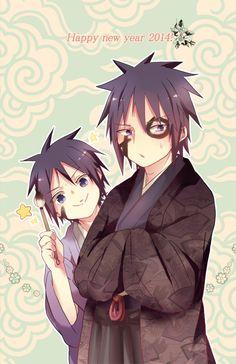 Uchiha bros. Madara and Izuna