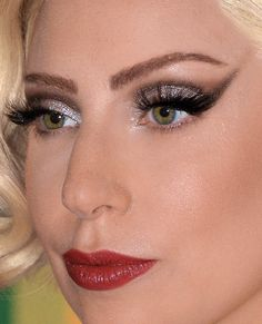 gagasapplause:  Lady Gaga at the 37th annual Kennedy Center Honors in Washington, DC - Face Details