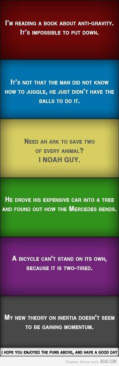 I looove puns!!!