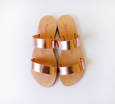 Sandals Handmade Greek Style Sandals made from by Sandelles NEED