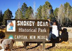 Smokey The Bear History | Smokey Bear Historical Park, Smokey Bear Museum. Capitan, New Mexico ...