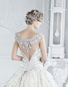Michael Cinco #wedding gown