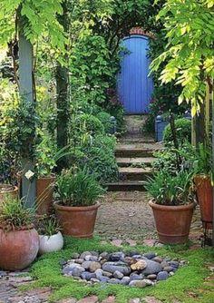 Mystery Garden - what's behind the door?