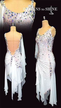Shop for your Latin dancewear at Designs to shine by Maria McGill, the premier choice for dancewear. All our Latin dresses are completely unique in design Latin Dance Dresses, Ballroom Dance Dresses, Bedroom Costumes, Prom Outfits, Fringe Dress, Corsets, Dance Wear, Designer Dresses, Dancing