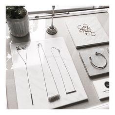 """""""Prepairing... #showroom #atelier #hamburg #madeleineissing #loveandmathematics #finejewelry #geometric"""""""