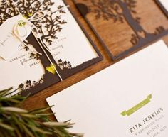 Another image of the invite #Nature #Wedding