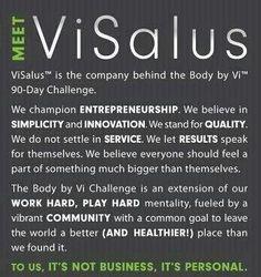 ViSalus 90 Day Challenge  join at: www.cindyschallenge.com