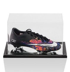3a2b132b Cristiano Ronaldo Signed Nike Boot Mercurial Victory CR7 In Acrylic Display  Ca Autographed Soccer Cleats >>> Check this awesome product by going to the  link ...