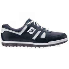 FootJoy GreenJoys 45316 Navy Men's Golf Shoe from @golfskipin